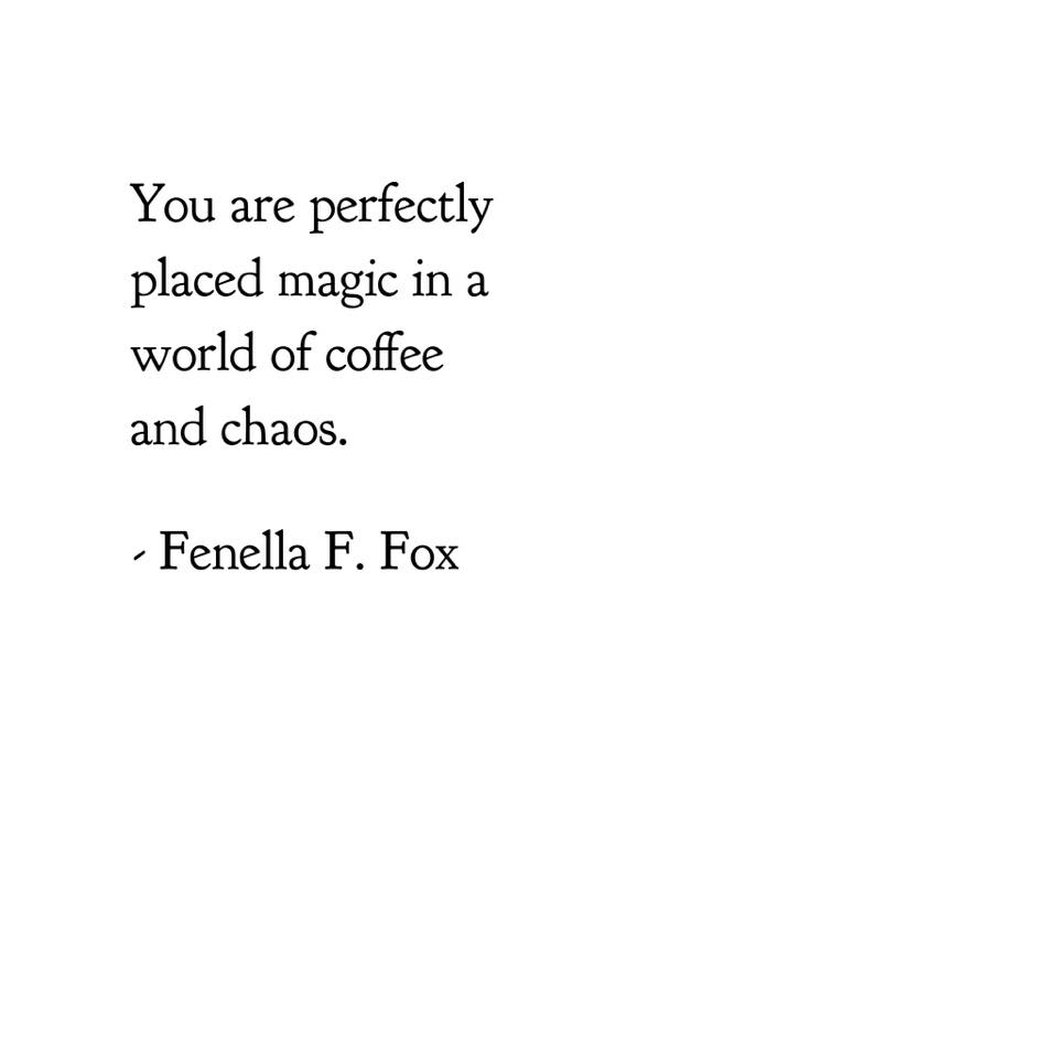 Poem by Fenella F. Fox