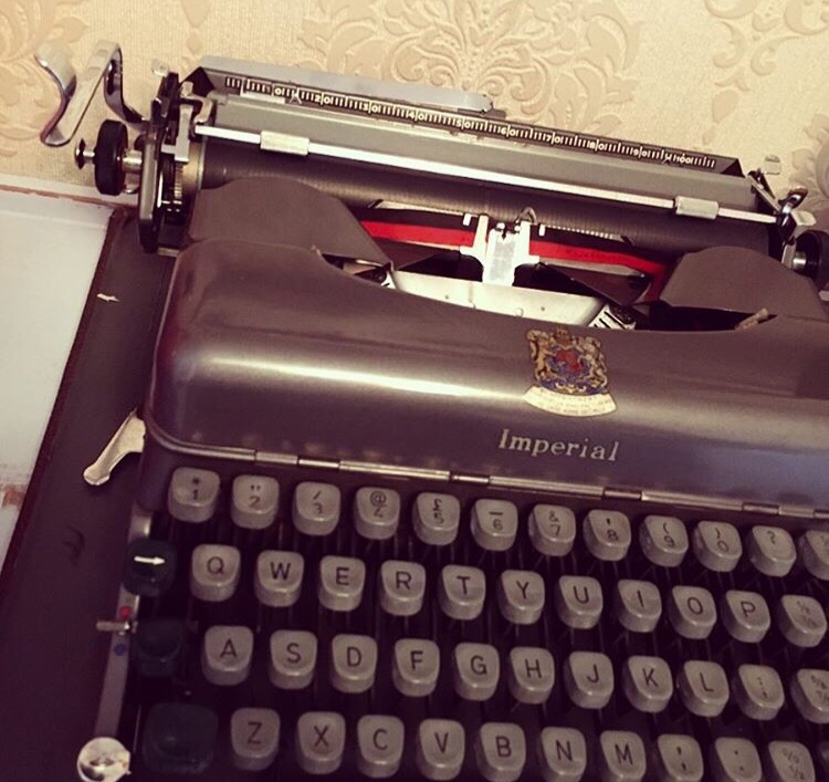 Let's Talk About Poetry - Type Writer