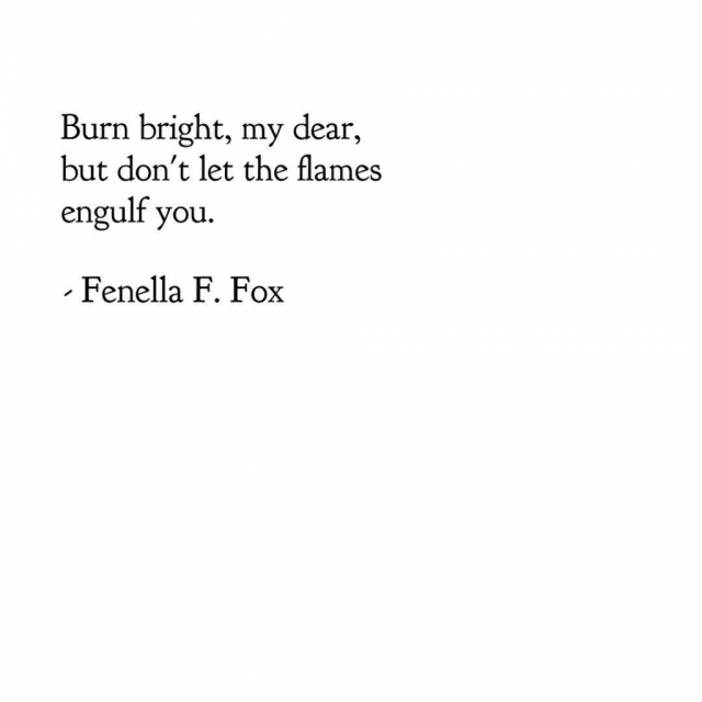 Poem by Fenella F. Fox