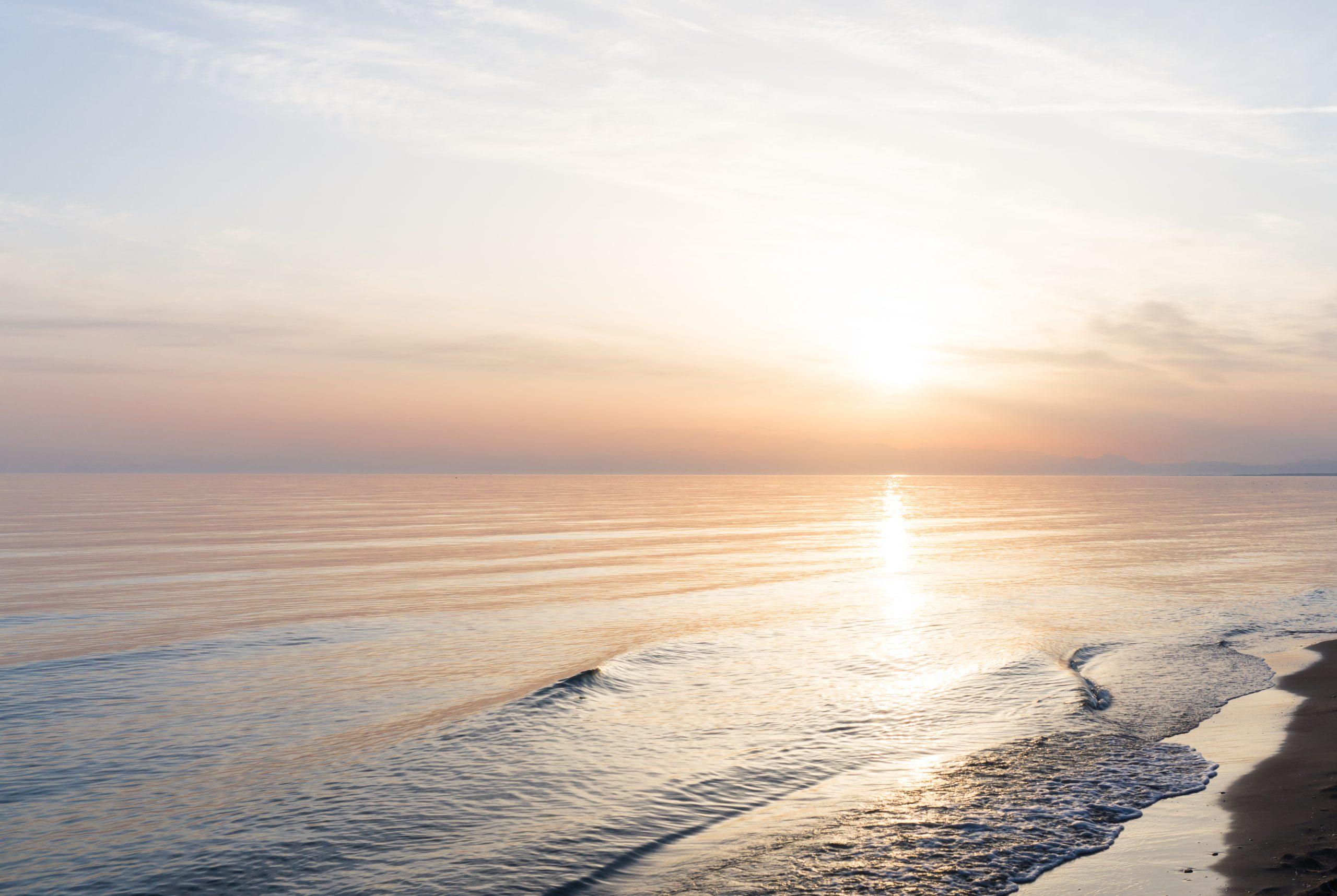 Calming Beach Image